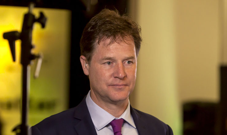 Facebook's vice-president for global affairs and communications Nick Clegg slammed India's inward-looking policy of fiercely storing the repository of data gathered from its citizens within the country and stopping global corporations from mining it for profit.