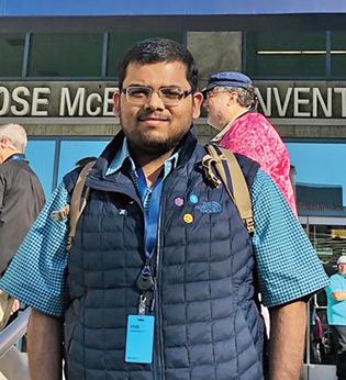 Vidit Bhargava is a 2016 WWDC Scholar