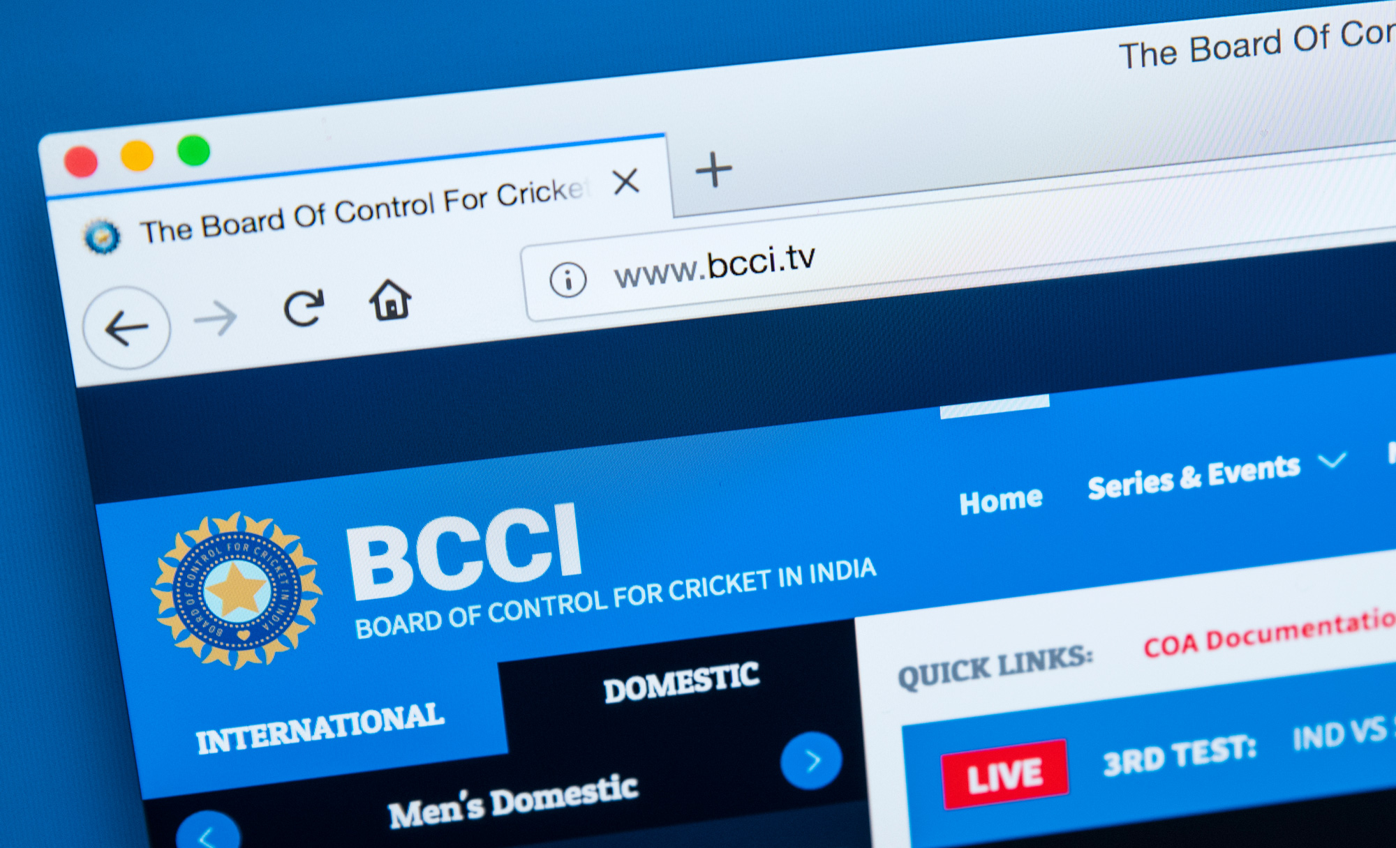 "The Board of Control for Cricket in India (BCCI) has written to the International Cricket Council (ICC) and urged the ""cricketing community to sever ties with countries from which terrorism emanates."""