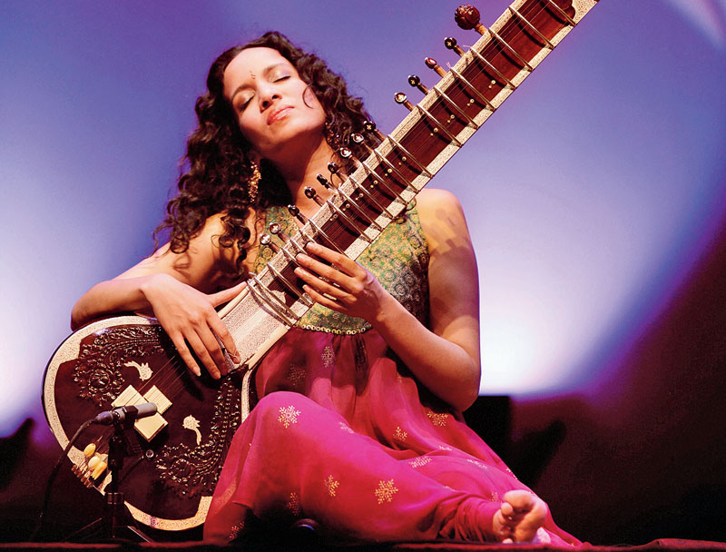 My father contributed such iconic music to the original trilogy that is kind of remembered the world over as some of the best music for film ever written. So I've obviously grown up knowing and loving that music. To play a small part with the continuation of that story, feels beautiful: Anoushka