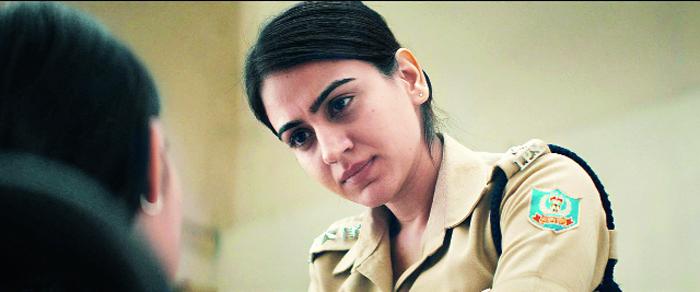 Aksha Pardasany as superintendent of police Dolly Sahu