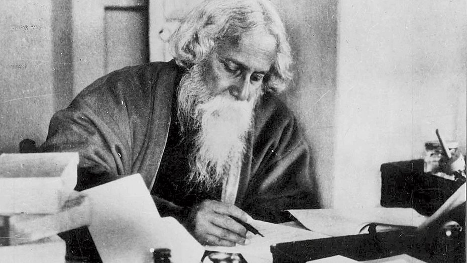 Inspired by Rabindranath Tagore and actively organized by Stella Kramrisch, an exhibition of the works of Wassily Kandinsky, Paul Klee, Johannes Itten and other members of the Bauhaus School of Design and Architecture was held at the Oriental Society of Indian Art in Calcutta in 1922.