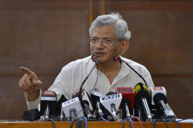"""Sitaram Yechury, who had twice earlier tried to visit the Valley after the August 5 decision to scrap the special status of Jammu and Kashmir, was told by the Supreme Court that he had been granted permission only for the purpose of meeting Tarigami and for """"no other purpose""""."""