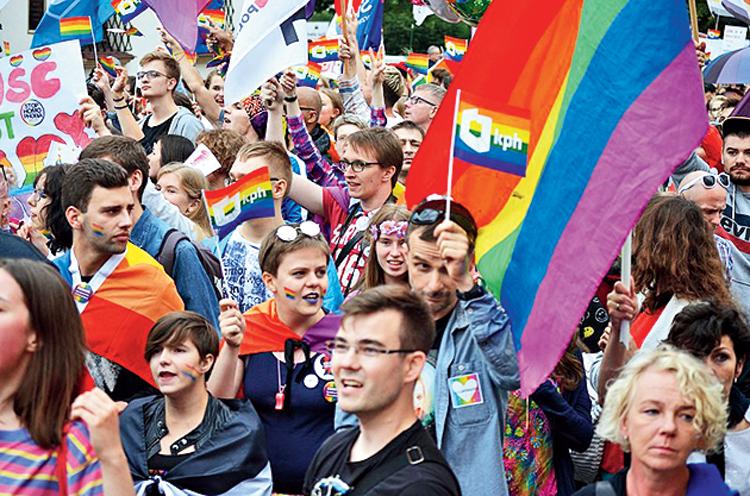 Rzeszow pride parade: Puzzled Poland