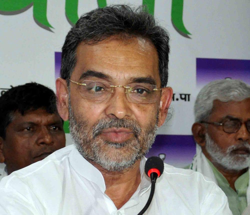 Upendra Kushwaha: wants a say in seat sharing