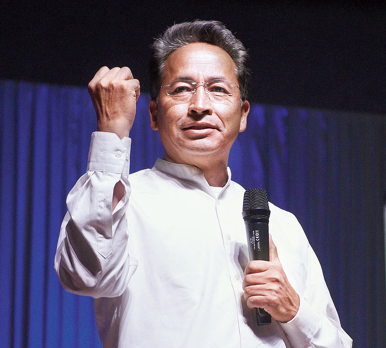 Sonam Wangchuk on Friday.
