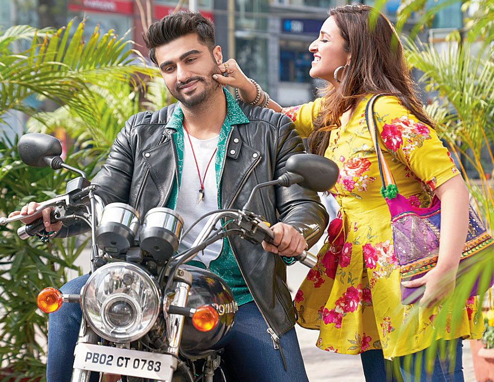 Arjun Kapoor and Parineeti Chopra in Namaste England