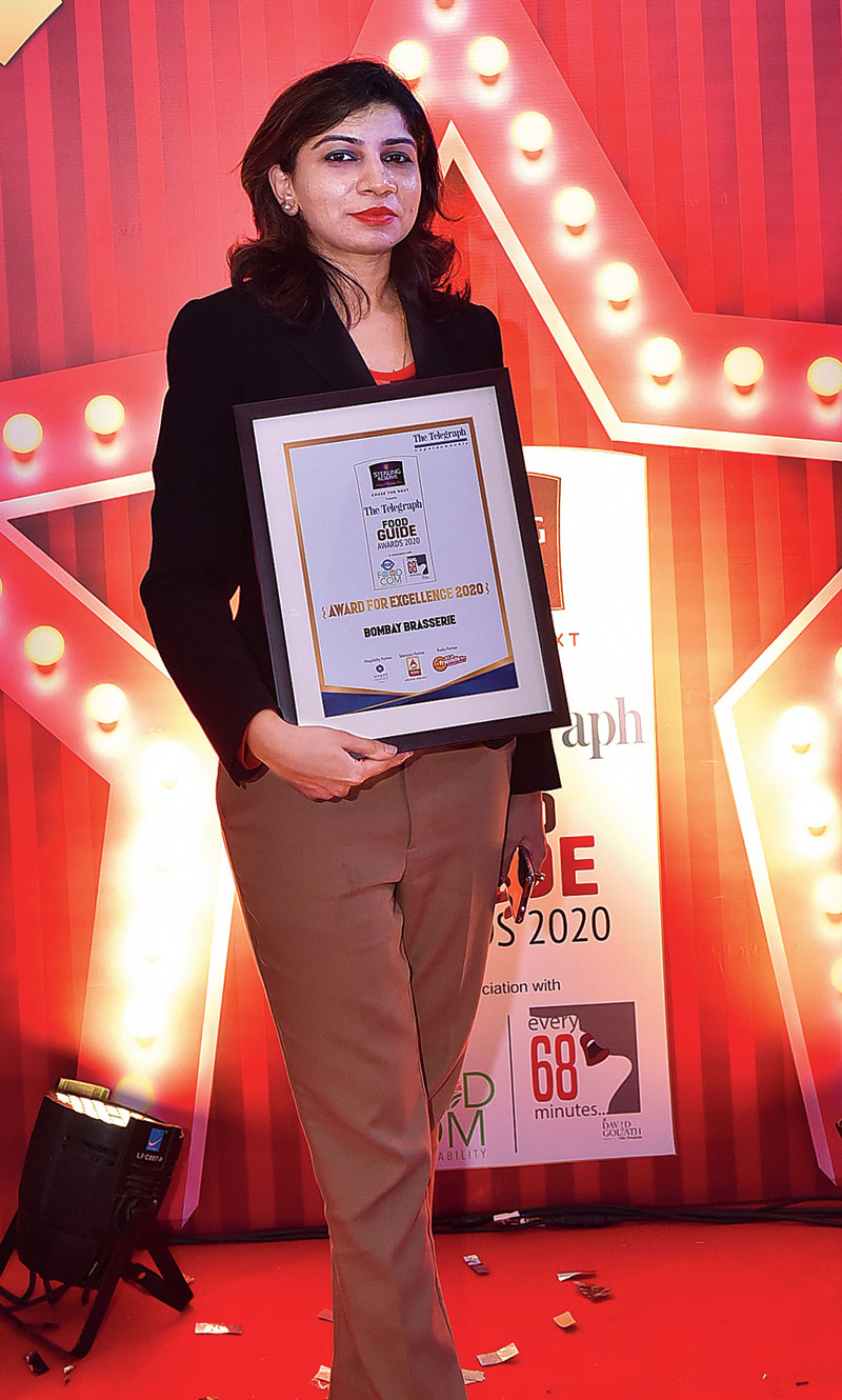 Consistently serving up yumm Indian food, Bombay Brasserie with their award