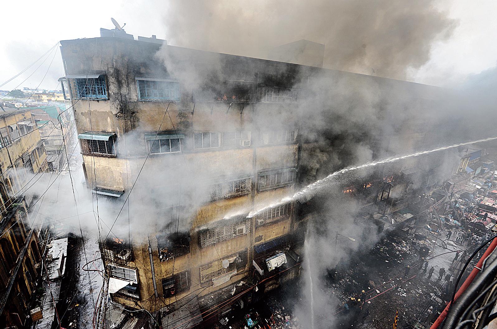 The Bagree Market fire in September 2018