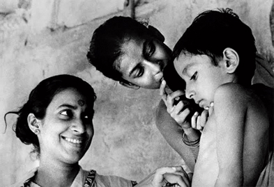 """""""Pather Panchali's narrative arc hinges upon that storm. It was profoundly moving and incredibly powerful. Of all the storm depictions I have seen, it is the most powerful..."""": Amitav Ghosh"""