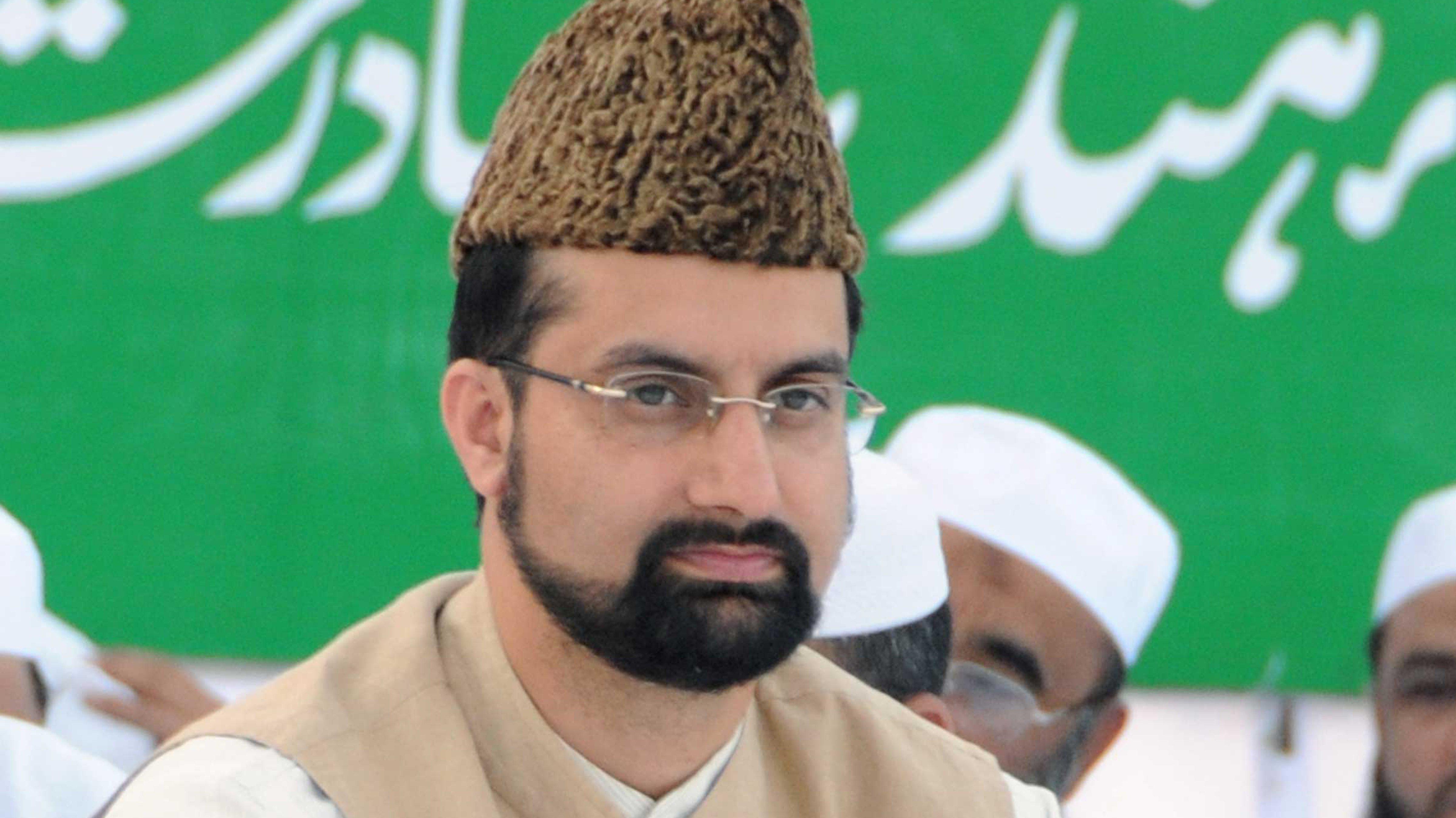 Hurriyat chairman Mirwaiz Umar Farooq.