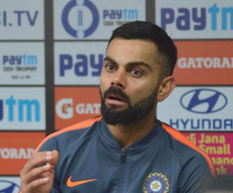 Virat Kohli was one of several Indian sportspersons who joined the nation in expressing their shock and anger over the terror attack