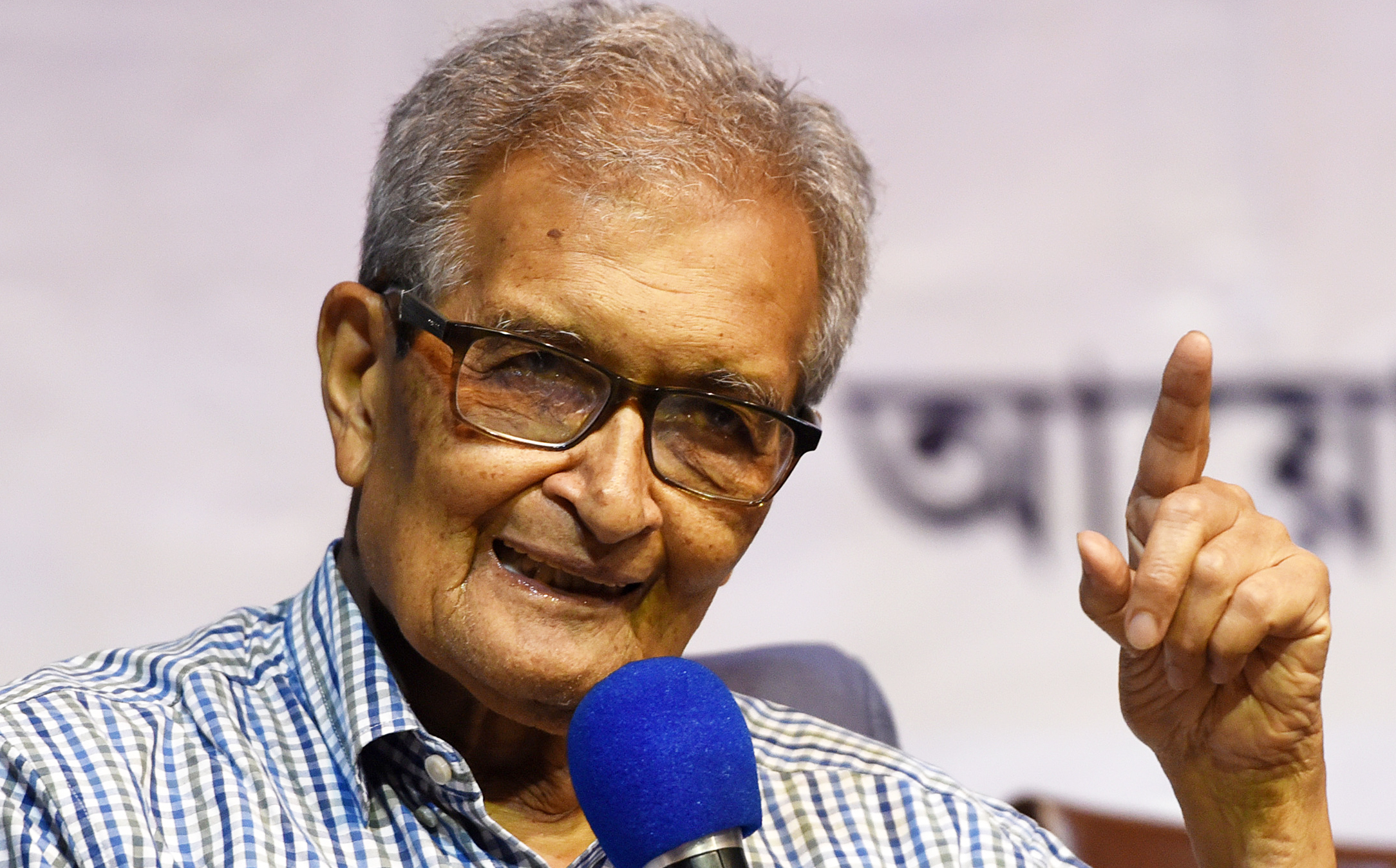 "Speaking to PTI from Boston, Amartya Sen said: ""I'm very, very happy and delighted that Abhijit Banerjee along with others have been awarded with the Nobel for Economics."""