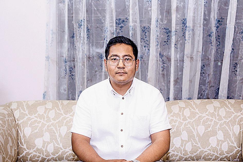 Speaker Sharingain Longkumer
