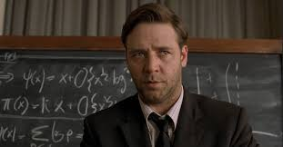 In films like A Beautiful Mind, there isn't a hope in hell that the average viewer will understand what the figures and numbers mean, but a vague sense of something profound and earth-shattering has to be created