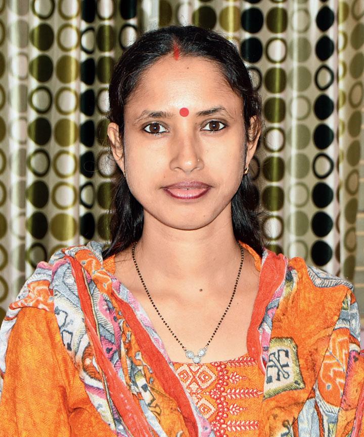 Suchitra Sinha, 32, homemaker
