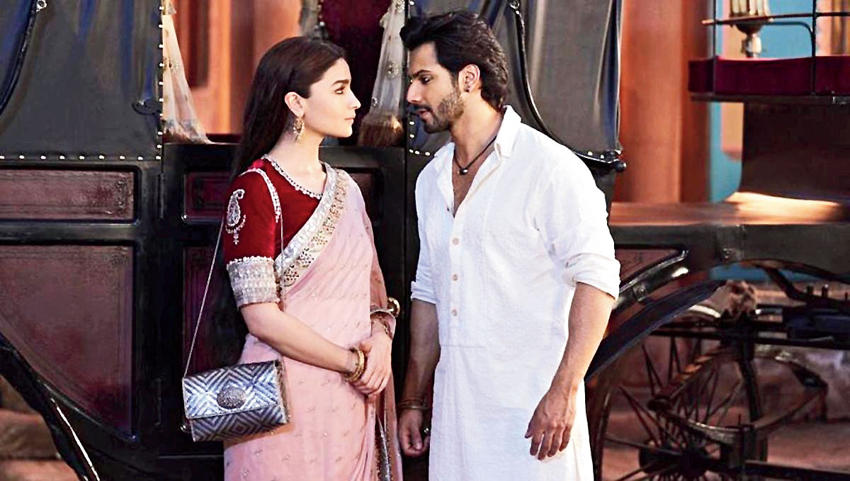 Varun Dhawan and Alia Bhatt in 'Kalank'