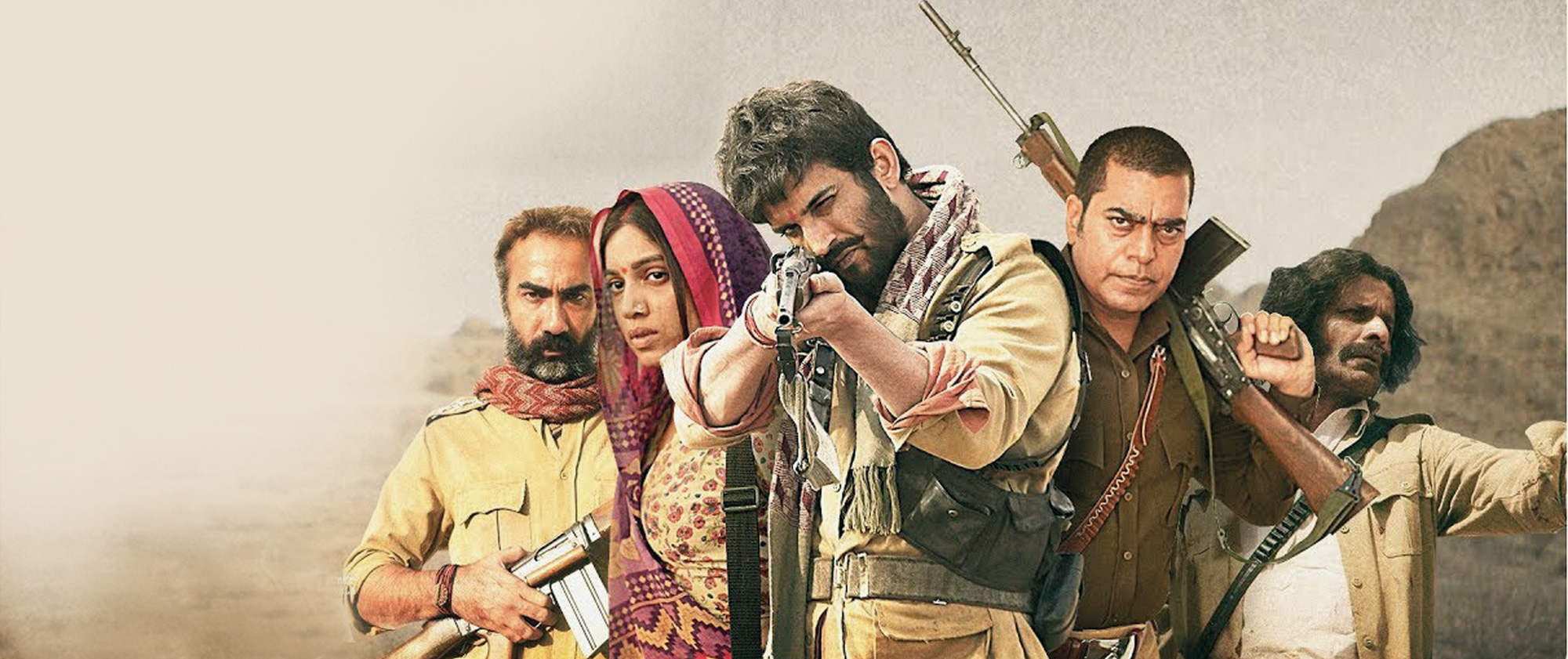 Every actor in Sonchiriya is at the top of their game