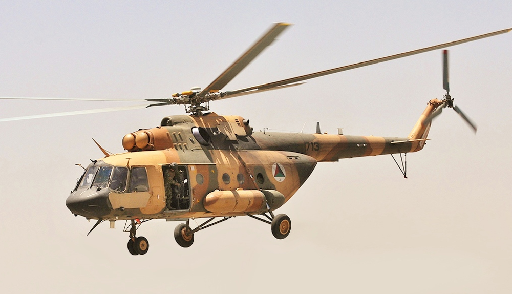 An Mi-17 helicopter