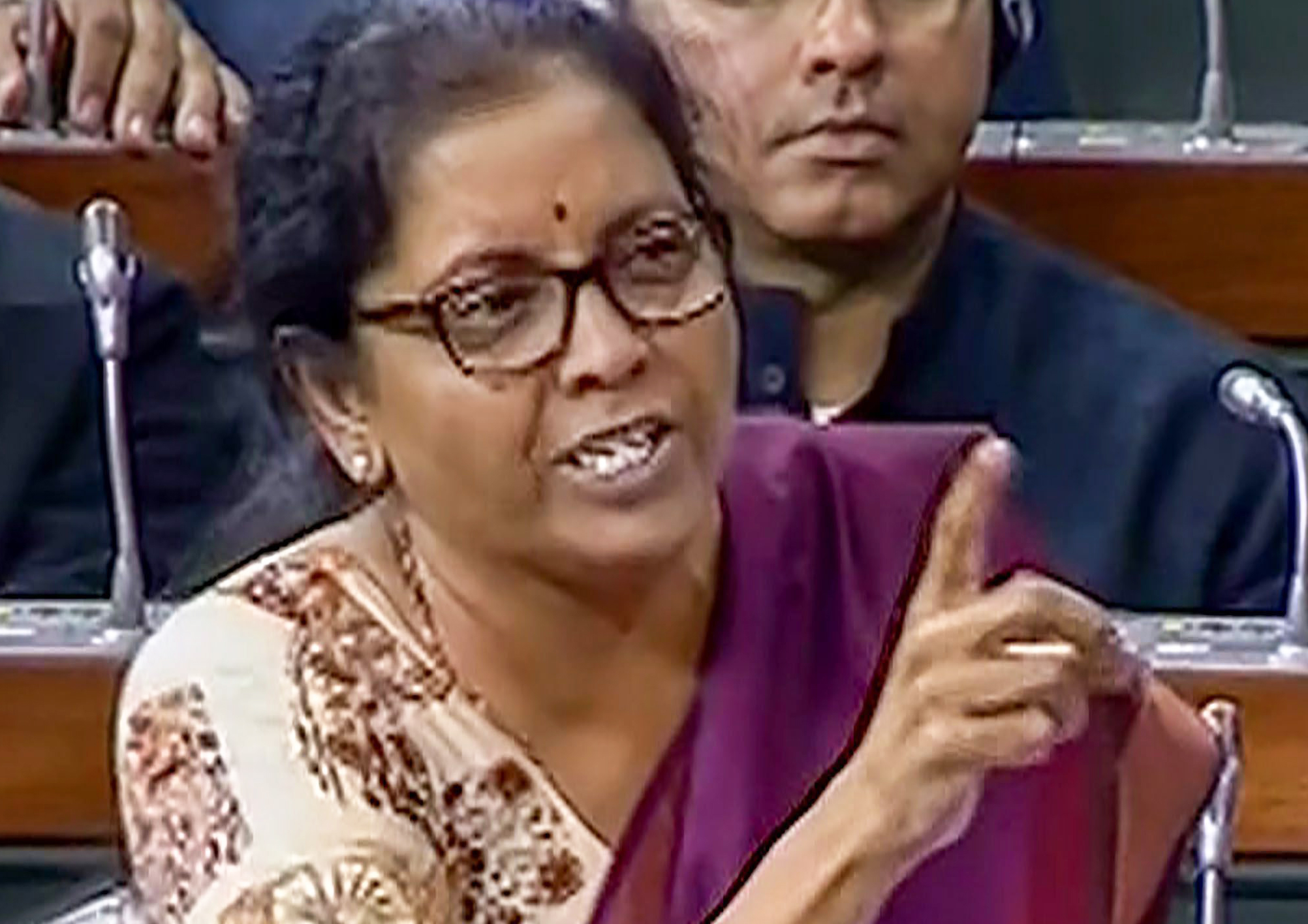 In Rafale debate, Nirmala cries 'insult'