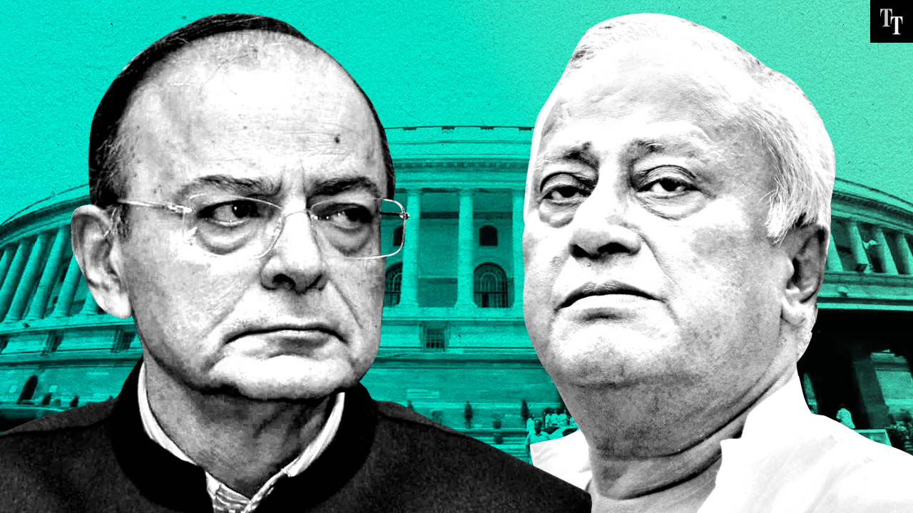 Arun Jaitley invokes James Bond, but forgets about enemy action