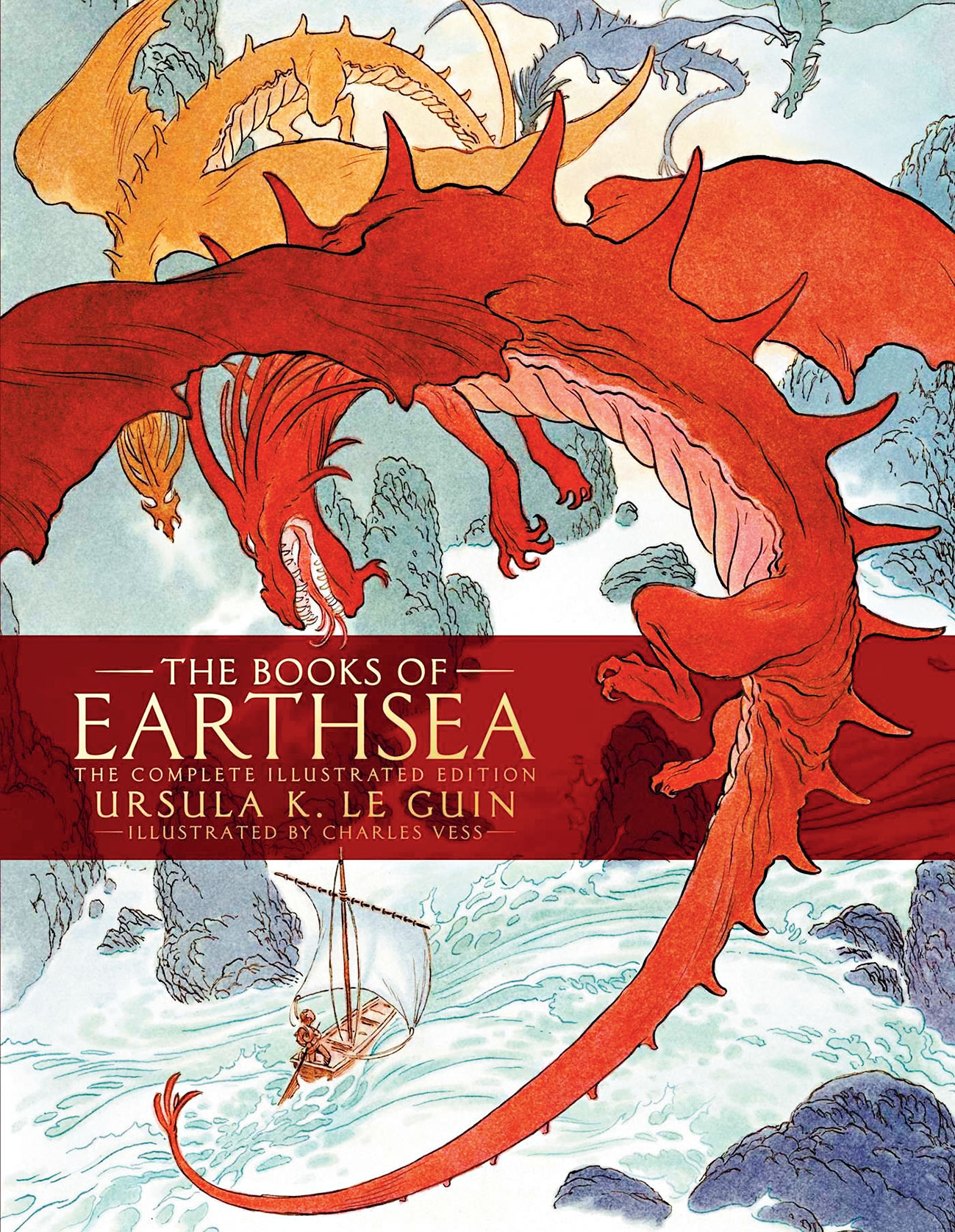 Book jacket of The Books of Earthsea: The Complete Illustrated Edition