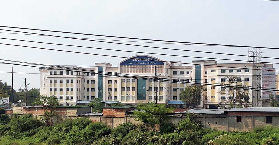 The Covid-19 hospital in Siliguri