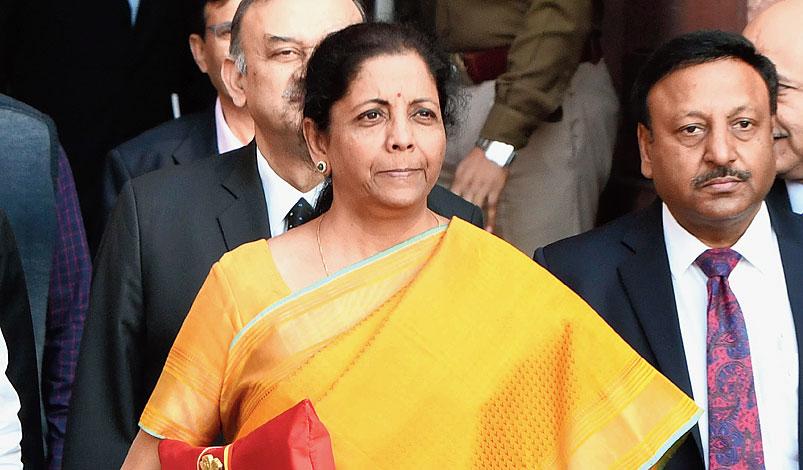 Nirmala Sitharaman in New Delhi on Saturday.