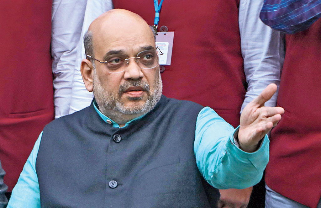 The lawyer of the former general manager of Adhunik Power urged Amit Shah (in picture) to look into the matter