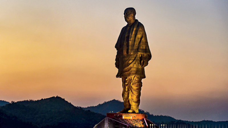 The Statue of Unity may be an indirect embodiment of the height of megalomania, but such grandiloquent gestures are typical of the men and women of straw who commission these and make decisions for us