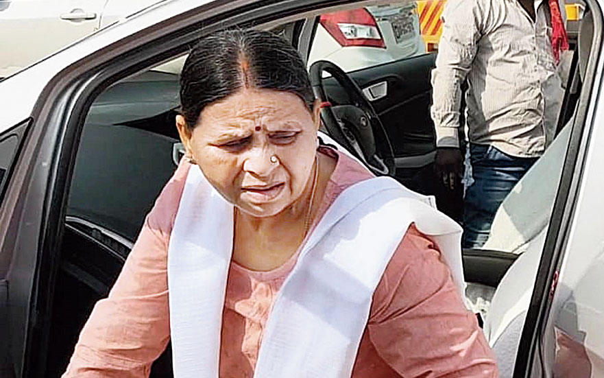 Rabri Devi dispatched two truckloads of goods to Chandrika's residence in Patna on Thursday evening.