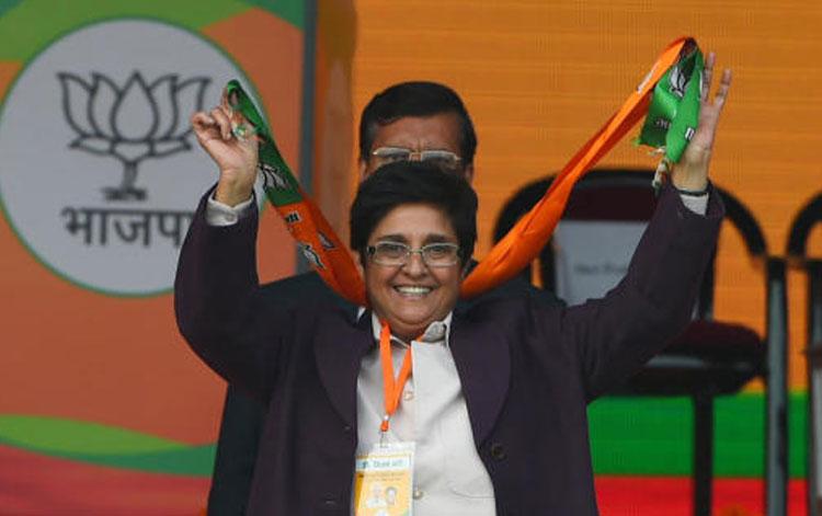 Puducherry lieutenant governor Kiran Bedi