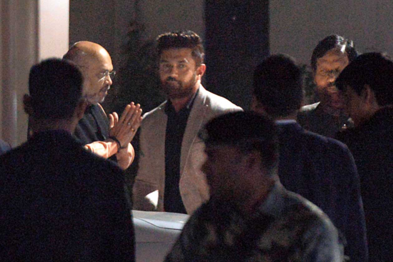 Shah reaches out to Paswan father and son