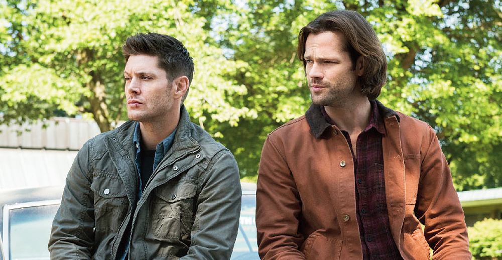 Brothers in arms: Jensen Ackles (left) and Jared Padalecki in the show