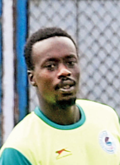 Former Sevilla striker Baba Diawara, who signed for Mohun Bagan, is going with the team