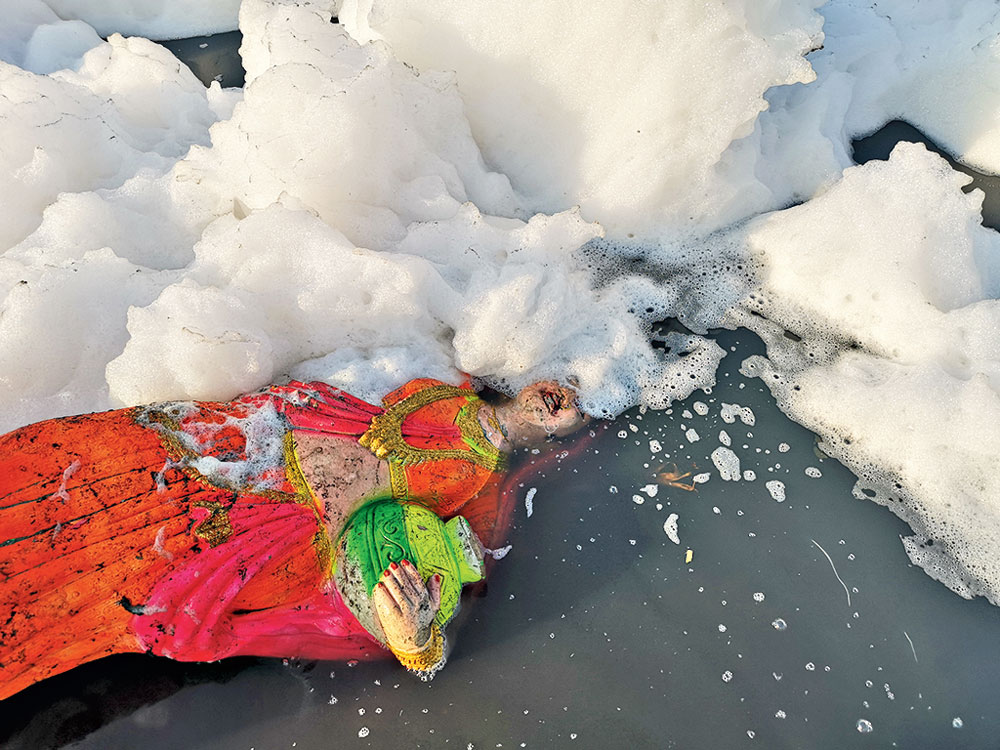 Parul Sharma has also photographed the Yamuna