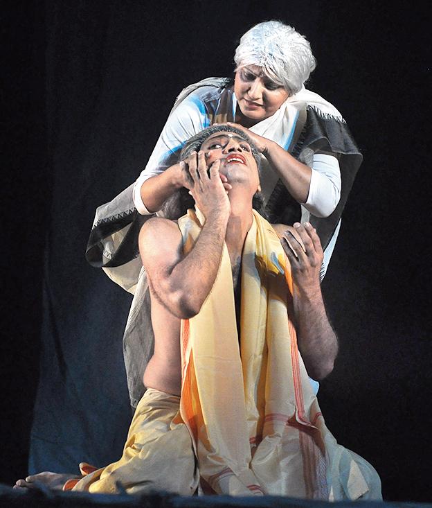 Performance by Shyambazar Blind Opera