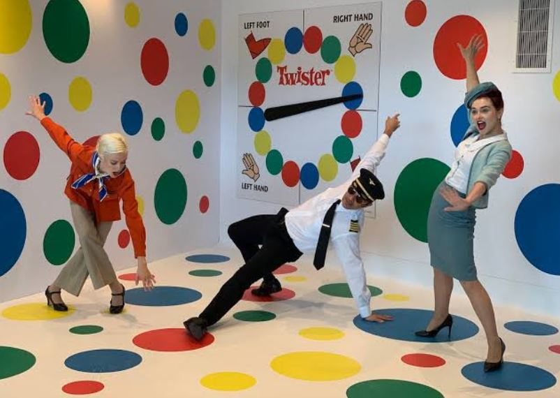 The Twister Room in TWA Hotel