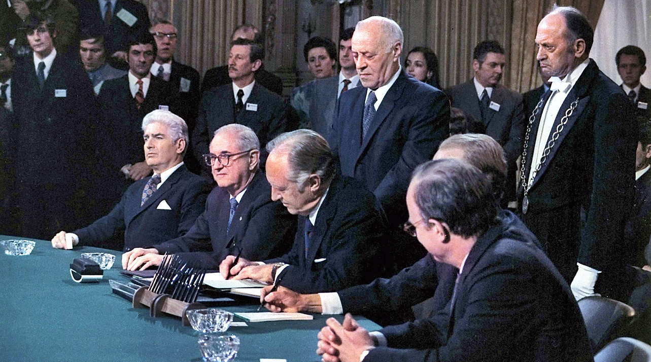 The Paris Peace Agreement of 1973. The parallels with the current US-Taliban negotiation are self-evident