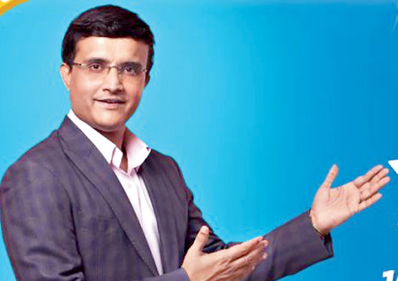 Sourav Ganguly promoting Flipkart's The Big Billion Days