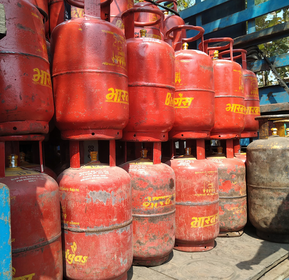 """On Saturday, the director (food, civil supplies and consumers) asked oil companies to ensure LPG stocks at bottling plants and warehouses that could last up to two months, calling it a """"most urgent matter""""."""