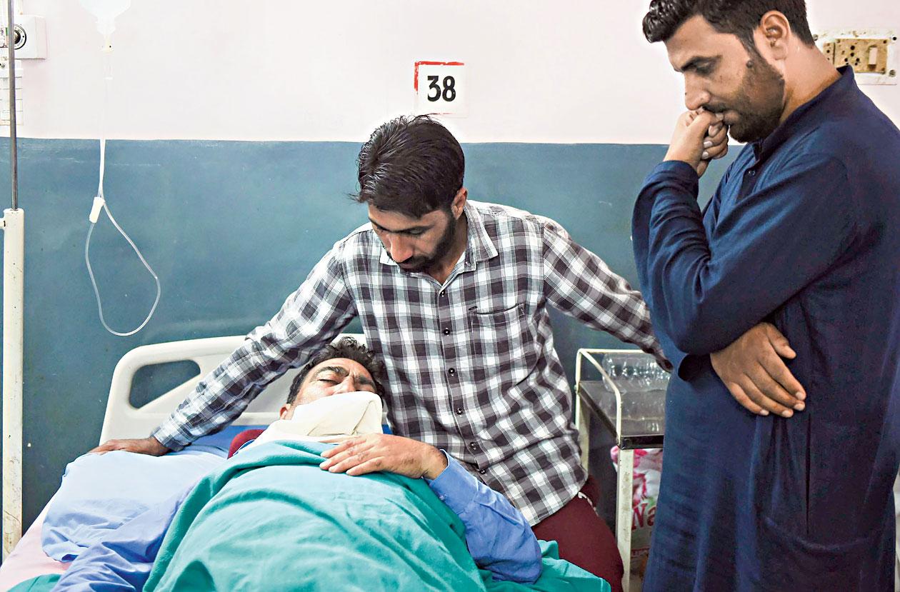 Child shot at in Kashmir