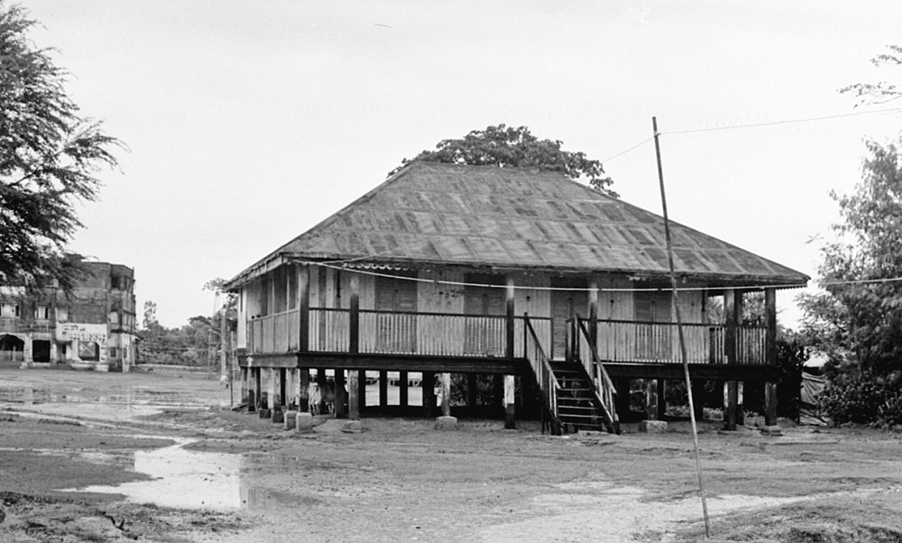 Hamilton's bungalow, which exists to date