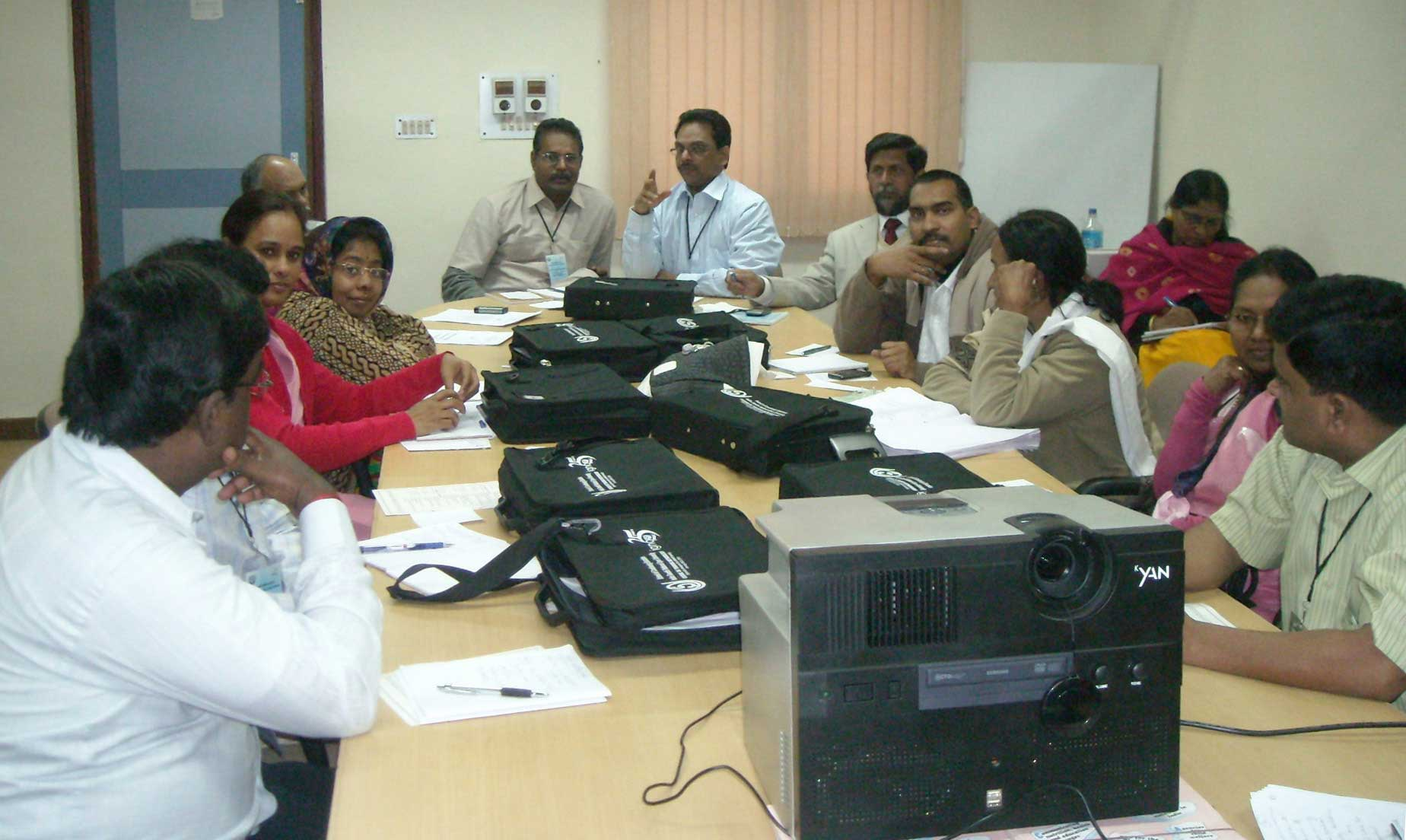 The IGNOU School of Continuing Education during a meeting.