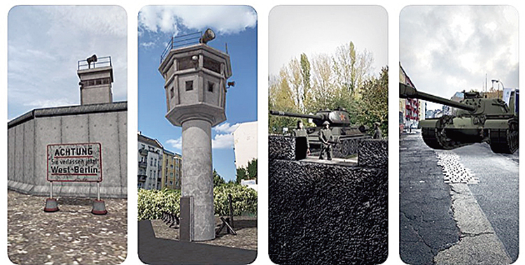 The MauAR — Berlin Wall app