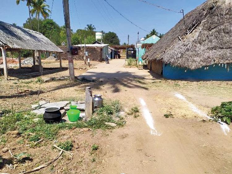 A view of the Sittilingi village