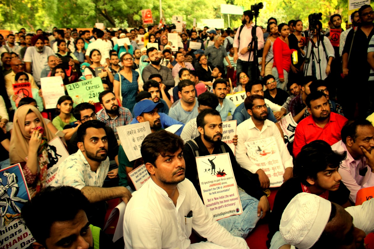 Protest against Tabrez lynching at Jantar Mantar, 50 other cities