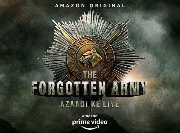 Teh Amazon Prime Video mini-series The Forgotten Army — Azaadi Ke Liye, that premieres on January 31.