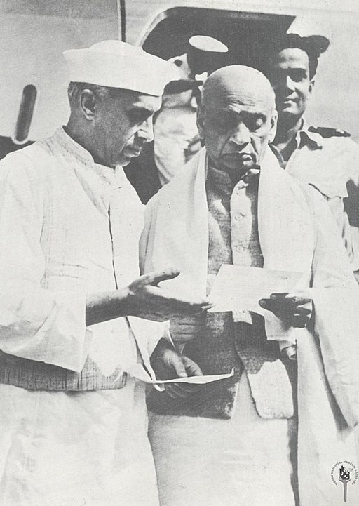 When Nehru wrote to Patel regarding Kashmir