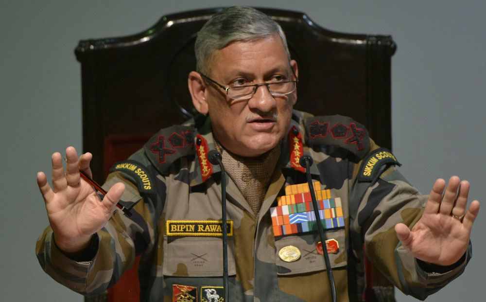 General Bipin Rawat.